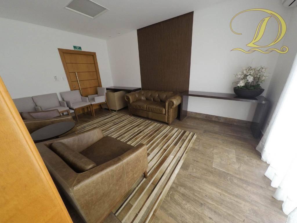 apartamento frente ao mar de alto padrão à venda no forte, 03 vagas, 03 suítes e churrasqueira na sacada!!! - ap1853