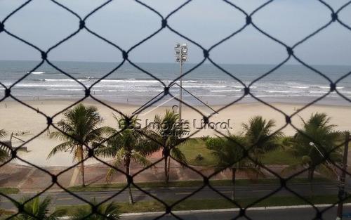 apartamento frente ao mar em praia grande ap963