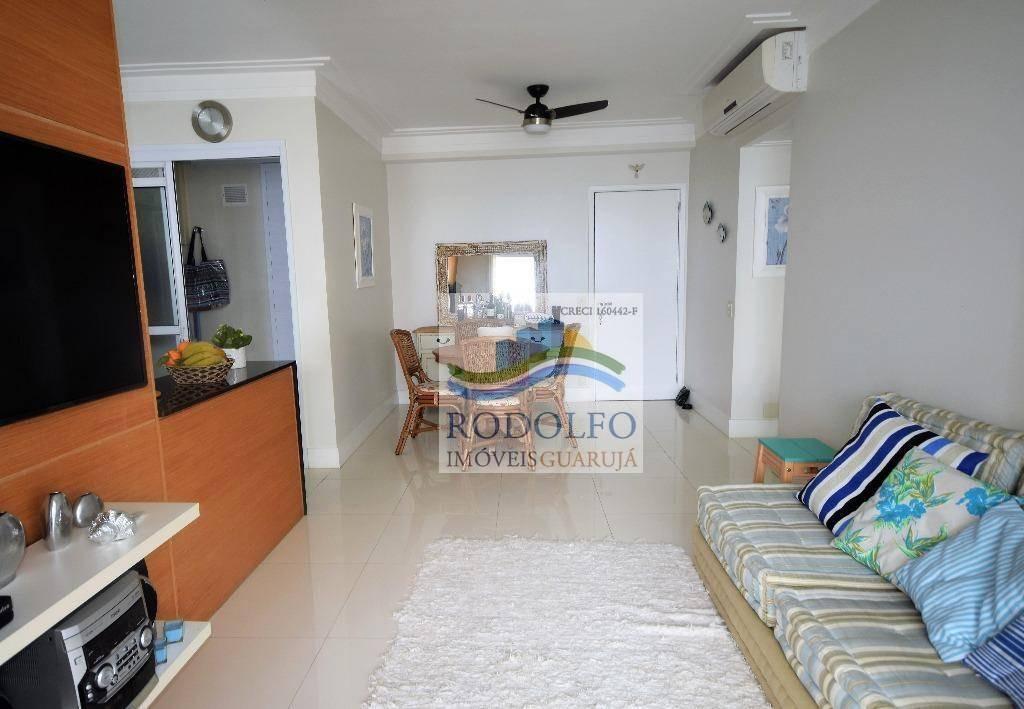apartamento frente ao mar!! guarujá astúrias, conforto e lazer completo.. - ap0594