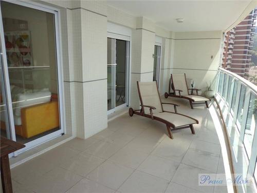 apartamento frente ao mar reformado residencial à venda, astúrias, guarujá - ap0274. - ap0274