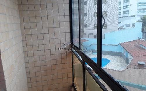 apartamento frente mar 1 dormitório na vila caiçara em praia grande