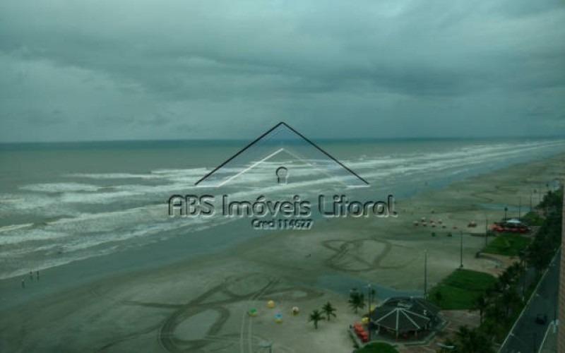 apartamento frente mar 3 na vila caiçara em praia grande - sp ap 873