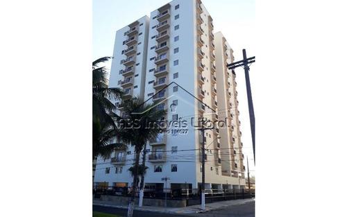 apartamento frente mar de 2 dormitórios em praia grande