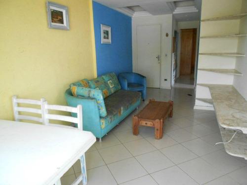 apartamento frente mar na praia do tombo - guarujá - ap0917
