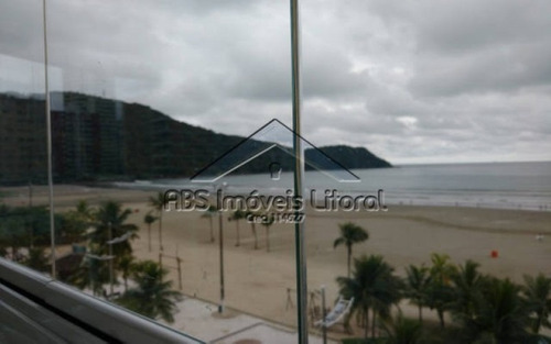 apartamento frente mar no canto do forte praia grande - sp - ap 807