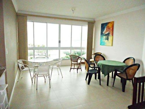apartamento frente mar (todo climatizado). - av203 - 3295788