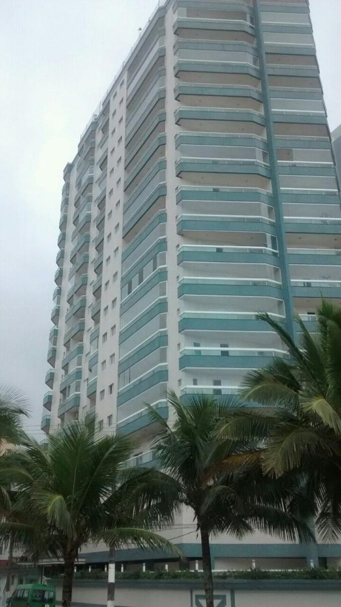 apartamento frente para o mar 2 dormitórios 70 mil de entrad