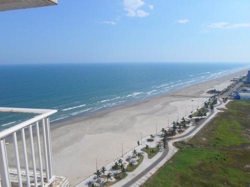 apartamento frente para o mar andar alto só 290 mil a vista