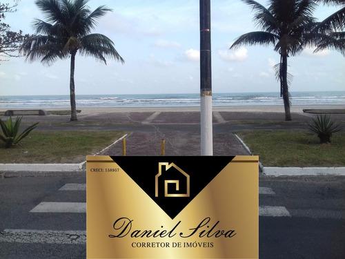 apartamento frente para o mar em praia grande 75 mil entrada