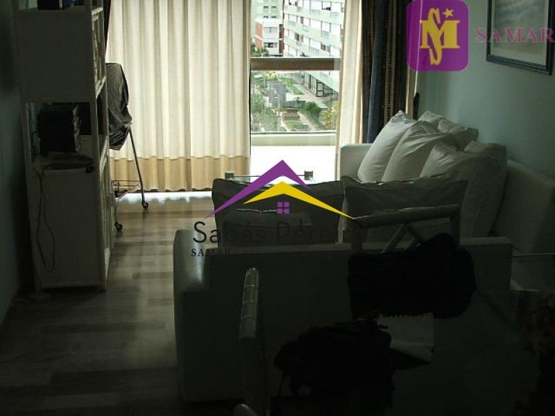 apartamento frente playa brava- 2 dorm- ref: 37321