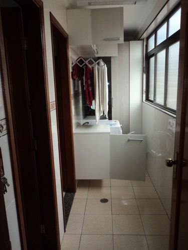 apartamento frente p/o mar de 02 dorms ref. 381600 - v381600