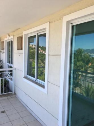 apartamento frente praia de são francisco 2 quartos 2 vagas - ap1893