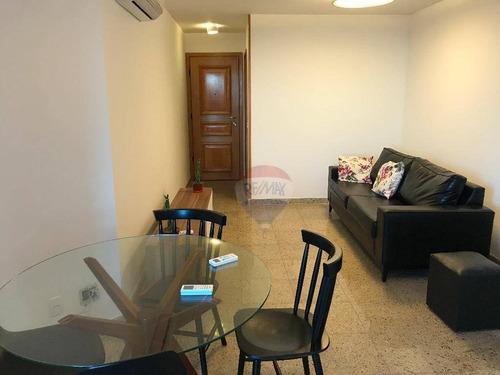 apartamento frontal mar al mare com 2 quartos - ap1253