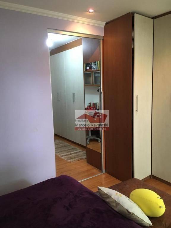 apartamento garden com 2 dormitórios à venda, 80 m² por r$ 500.000,00 - santa maria - são caetano do sul/sp - gd0005