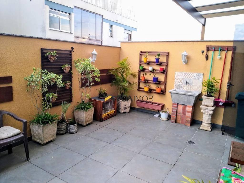 apartamento garden com 3 dormitórios à venda, 109 m² por r$ 555.000,00 - são sebastião - porto alegre/rs - gd0015