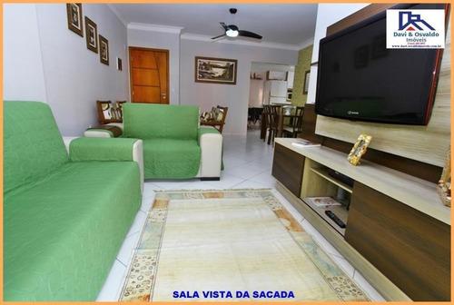 apartamento garden para venda em praia grande, ocian, 3 dormitórios, 2 suítes, 1 banheiro, 2 vagas - ap00102