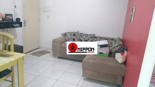 apartamento garden residencial para locação, vila alzira, guarulhos. - gd0005
