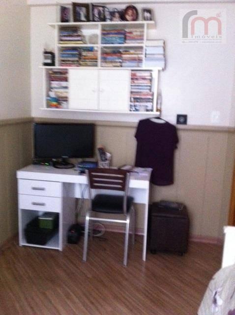 apartamento garden residencial à venda, vila matias, santos - ap1483. - ap1483