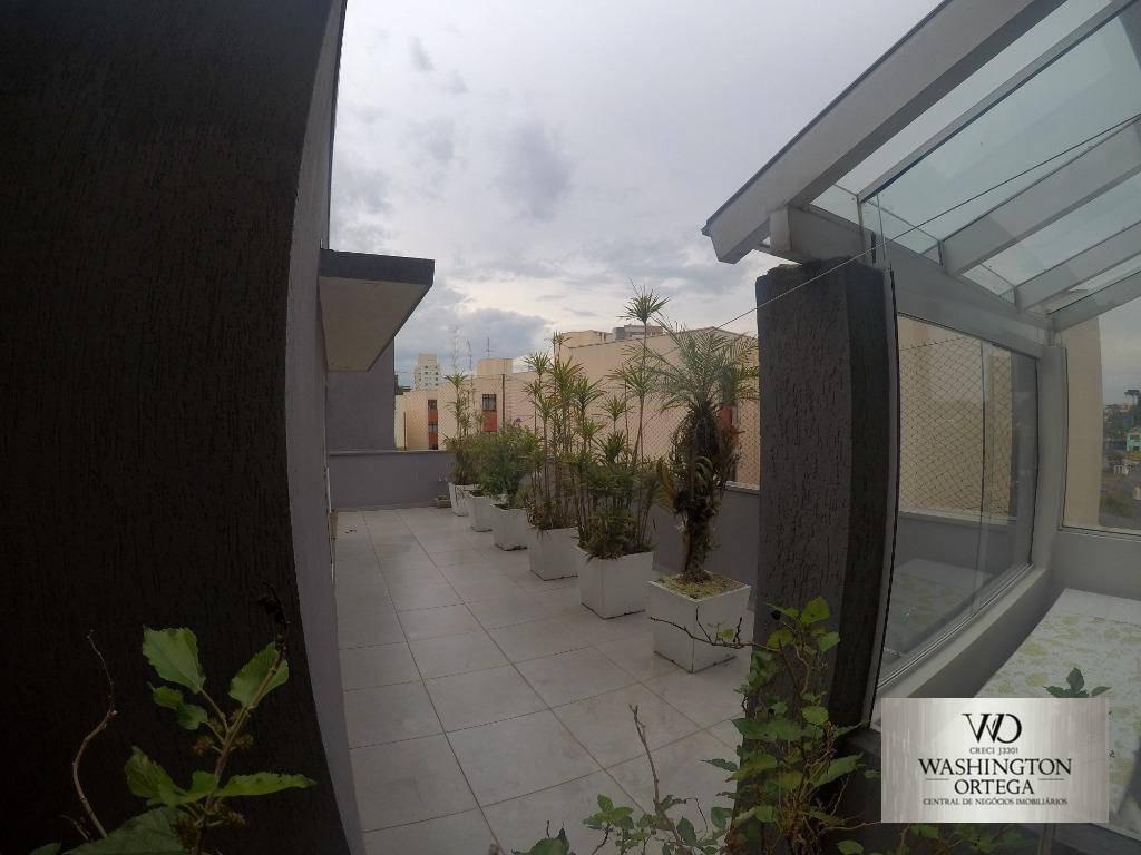 apartamento garden à venda, 252 m² por r$ 1.200.000,00 - centro - são josé dos pinhais/pr - gd0002