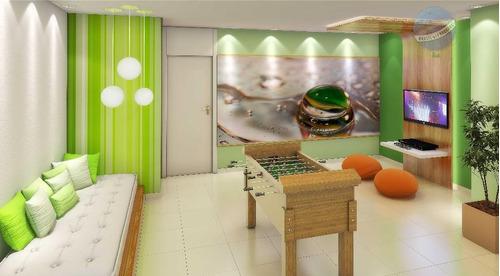 apartamento giardino com 119m², em nova parnamirim, pronto para morar, vizinho ao extra - novo sttilo - ap0004