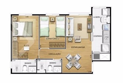 apartamento - gloria - ref: 198962 - v-198962