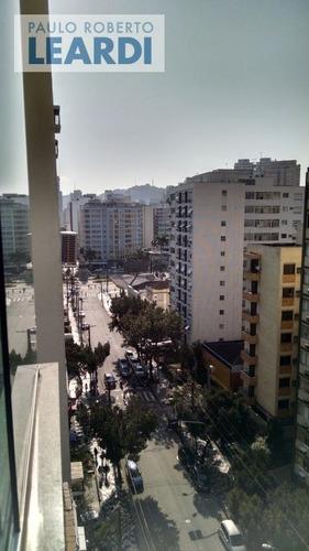 apartamento gonzaga - santos - ref: 410897
