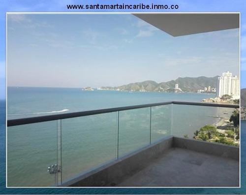 apartamento grande en venta frente playasalguero santa marta