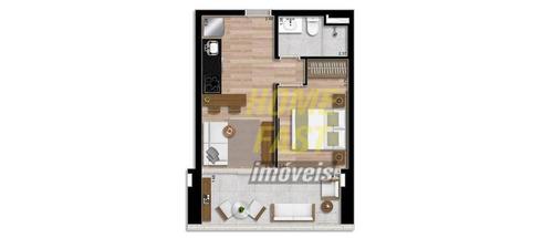 apartamento helbor patteo bosque maia com 1 dormitório à venda, 39 m² por r$ 339.810 - bosque maia - guarulhos/sp - ap1441