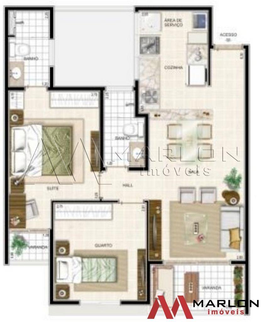 apartamento ideali machado em nova parnamirim