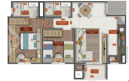 apartamento - igara - ref: 204933 - v-204933