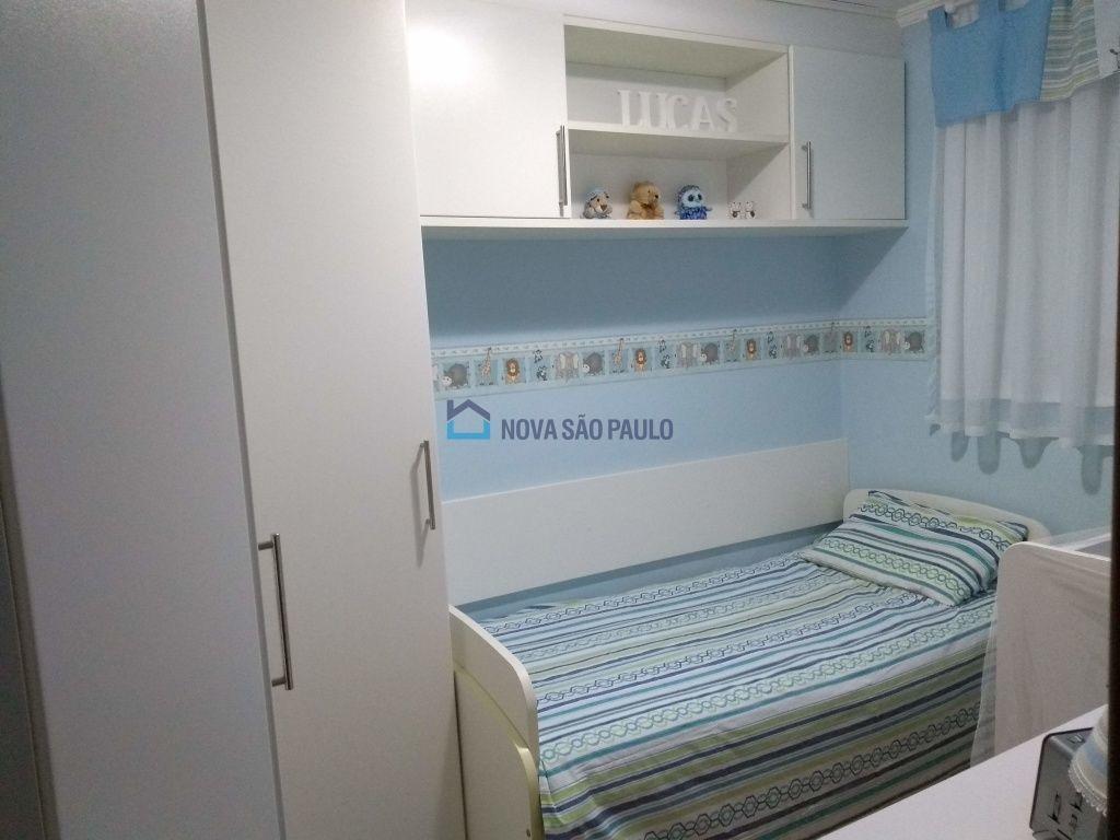 apartamento impecável próximo ao metrô sacomã  - bi22757