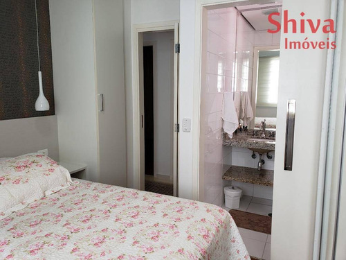 apartamento impecável, todo mobiliado, à venda na vila regente feijó - ap0153