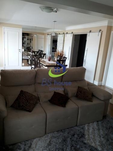 apartamento impecável varanda gourmet 3 suítes / 3 vagas - 5365