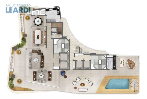 apartamento itaim bibi  - são paulo - ref: 535098