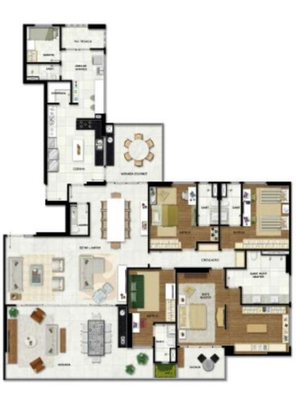 apartamento - j093 - 2793984