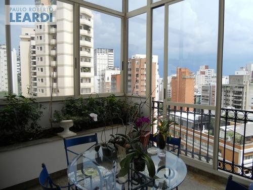apartamento jardim américa  - são paulo - ref: 494498