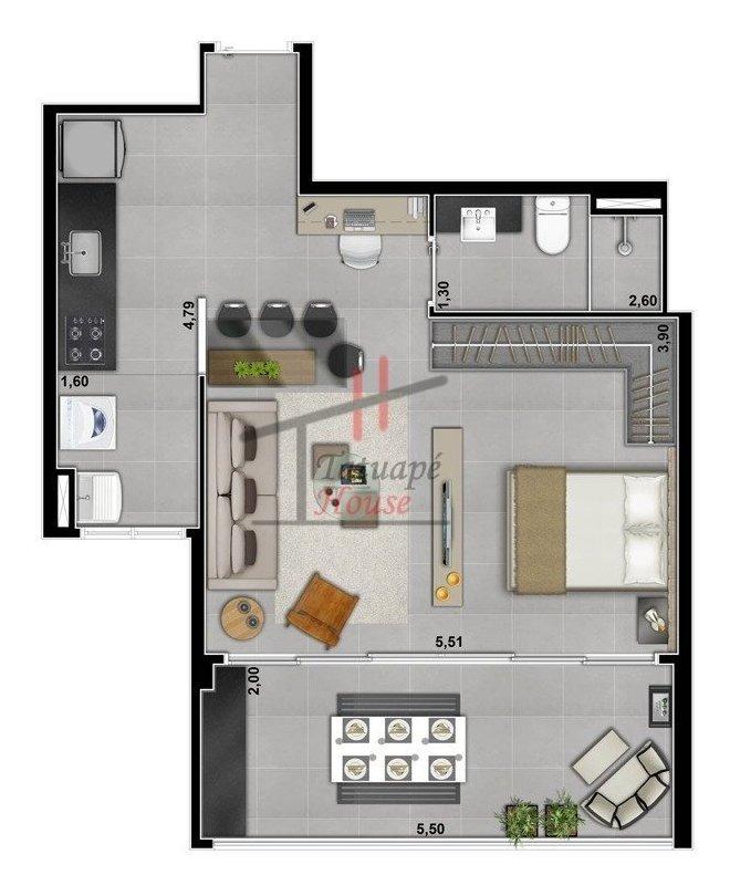 apartamento - jardim analia franco - ref: 5517 - l-5517
