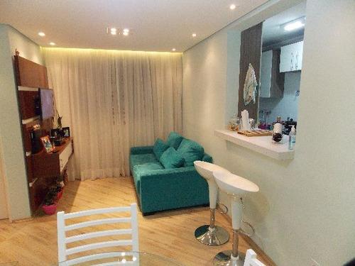 apartamento jardim angela 2 dormitórios 1 banheiros 1 vagas 48 m2 - 2624