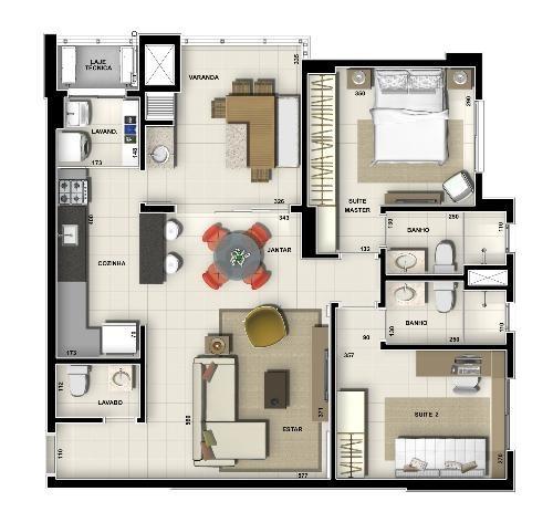 apartamento  jardim botânico - 39