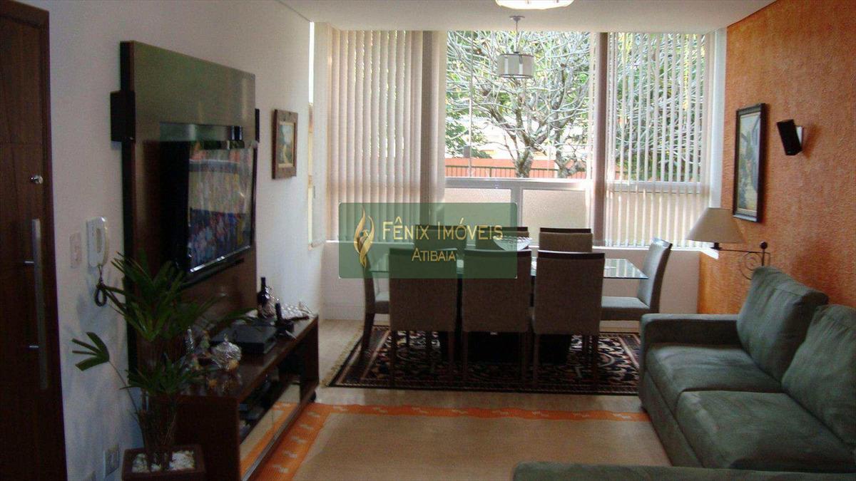 apartamento, jardim floresta - área útil 78 m² - v33