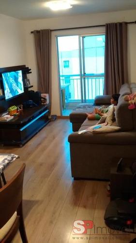 apartamento jardim guairaca 1 suítes 2 dormitórios 1 banheiros 1 vagas 67 m2 - 2681