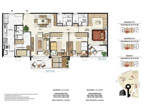 apartamento jardins do recreio - 4 quartos  - 201
