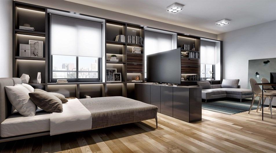 apartamento jk em auxiliadora com 1 dormitório - rg2880