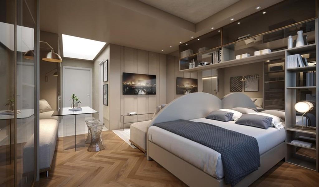 apartamento jk em partenon com 1 dormitório - rg5259