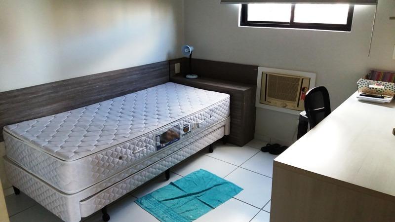 apartamento, joão pessoa, miramar, 3 quartos + dce