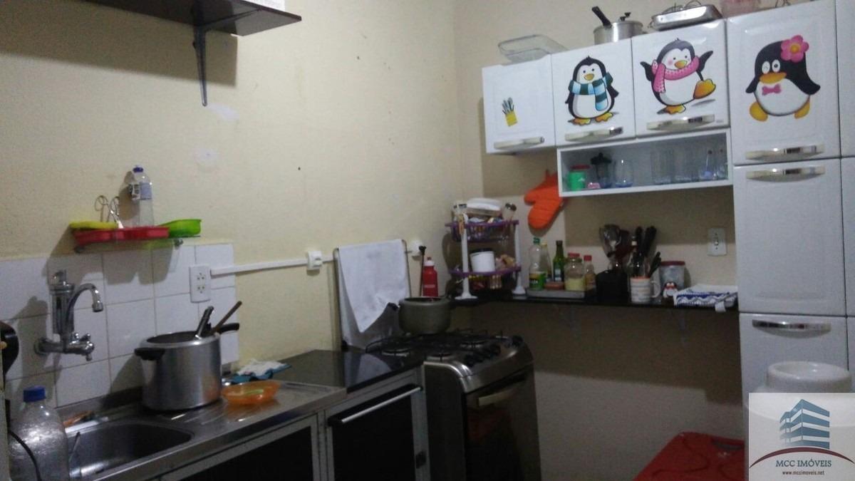 apartamento + kitnet para venda em capim macio