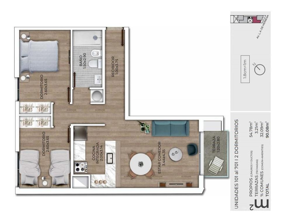 apartamento - la blanqueada