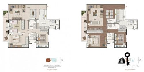 apartamento lagoa - 3 quartos - 134