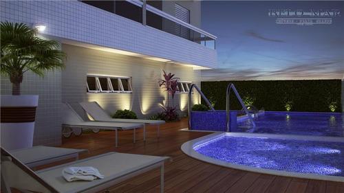 apartamento lançamento à venda, canto do forte, praia grande. - codigo: ap0523 - ap0523