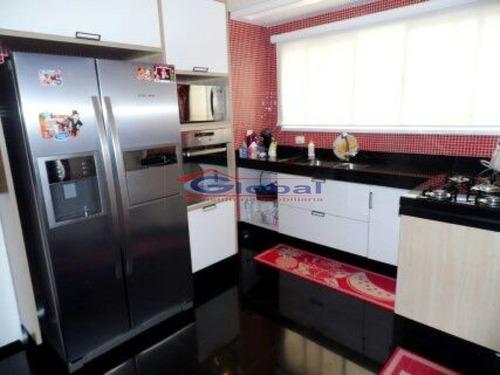 apartamento lindamente decorado - casa branca - santo andré - gl36522